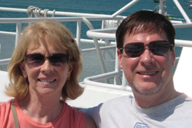 The Burkes moved from Ohio to retire in Naples, Florida