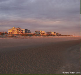A beach photo at Isle of Palms, SC